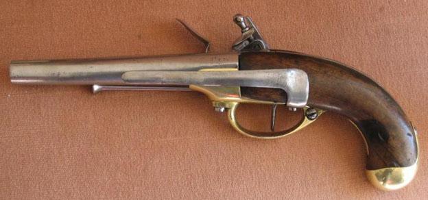 pistolet 1777 cavalerie. Black Bedroom Furniture Sets. Home Design Ideas